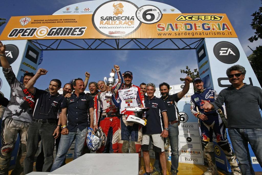 Pedrero sul podio mondiale, Mancini campione italiano raidTT