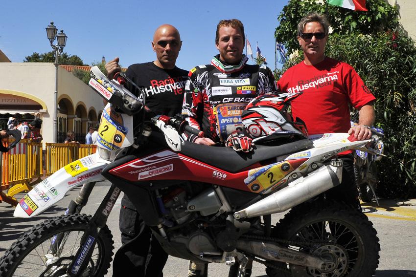 CF Racing-Husqvarna e Andrea Mancini conquistano il Campionato Italiano Moto Raid TT