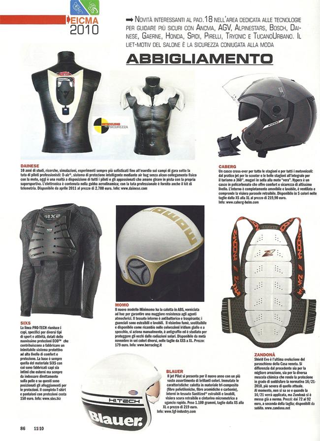 Motociclismo - Speciale EICMA - SIXS