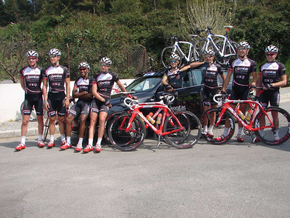 Team Bonitas al Tour del Portogallo 2012