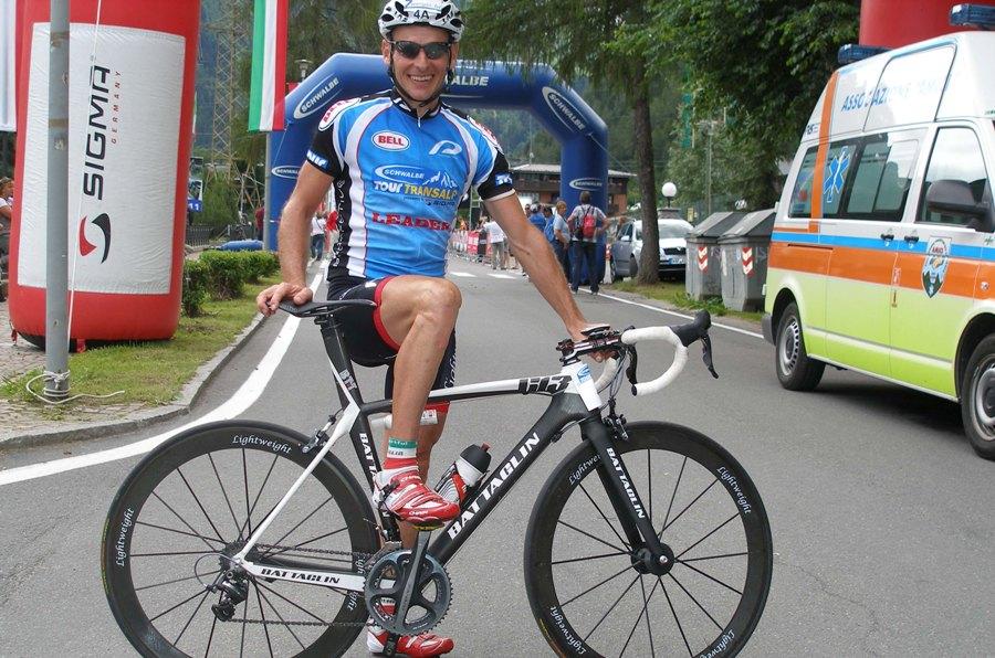 Weiss Werner vincitore Tour Transalp