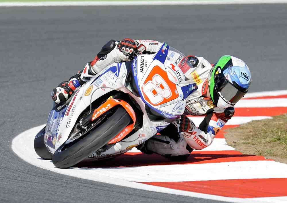 Andrea Antonelli nel Mondiale Supersport 2012