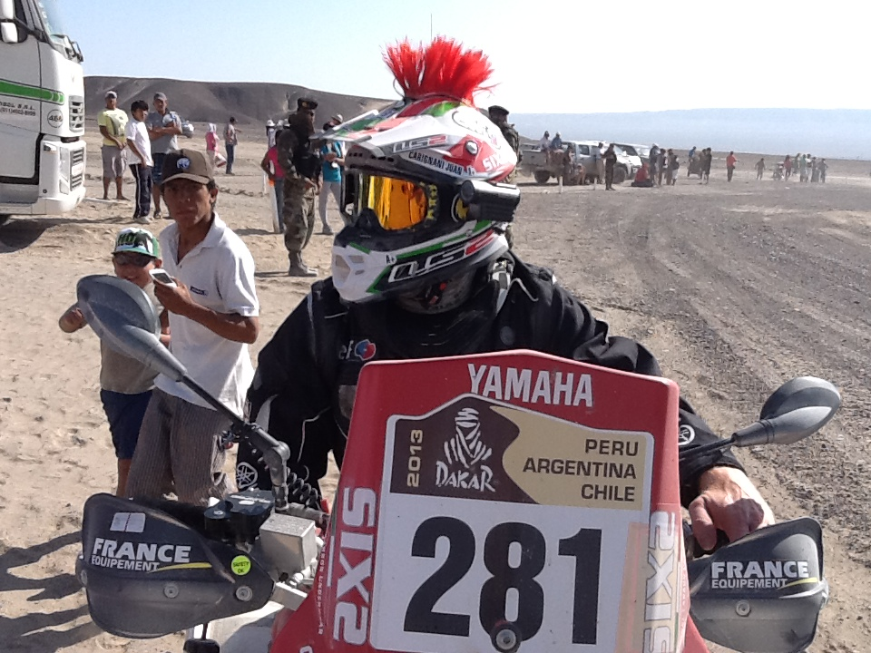Juan Carlos Carignani in SIXS @ Dakar 2013