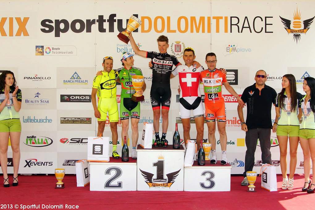 Cunico fa sua anche la Sportful Dolomiti Race