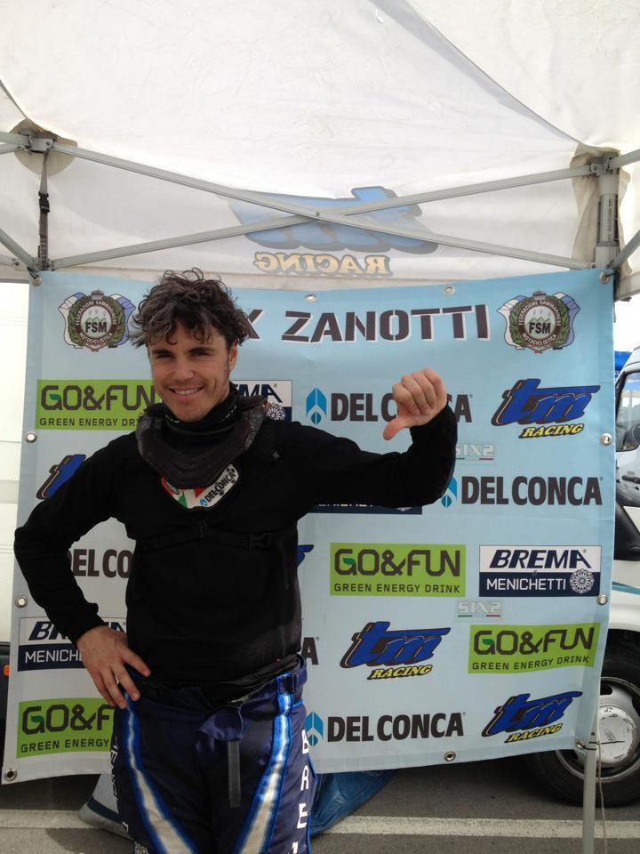 Alex Zanotti sfortunato nella prima prova del Campionato Italiano Motorally all'Isola d'Elba