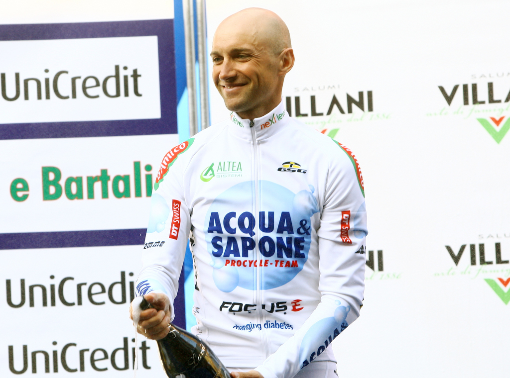 Coppi e Bartali: Acqua&Sapone ancora sul podio: Garzelli 3° nella crono conclusiva.