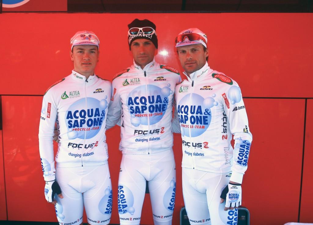 Coppi&Bartali: Acqua&Sapone con Di Luca, Garzelli e il giovane Betancur