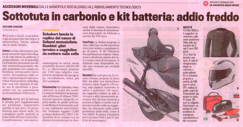 Gazzetta dello Sport - 27 Gennaio 2011