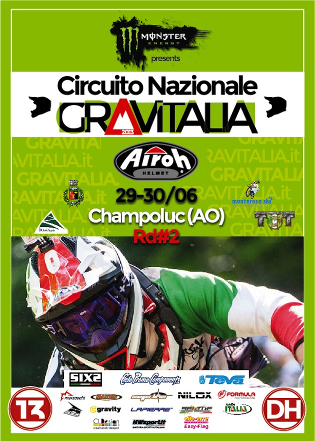 Circuito Nazionale Gravitalia - Airoh fuelled by Monster Energy - CHAMPOLUC (AO)