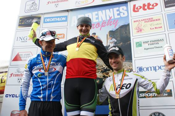 Roel Paulissen secondo al Campionato Nazionale belga Marathon