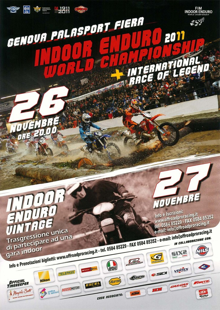Indoor Enduro World Championship - Genova 2011