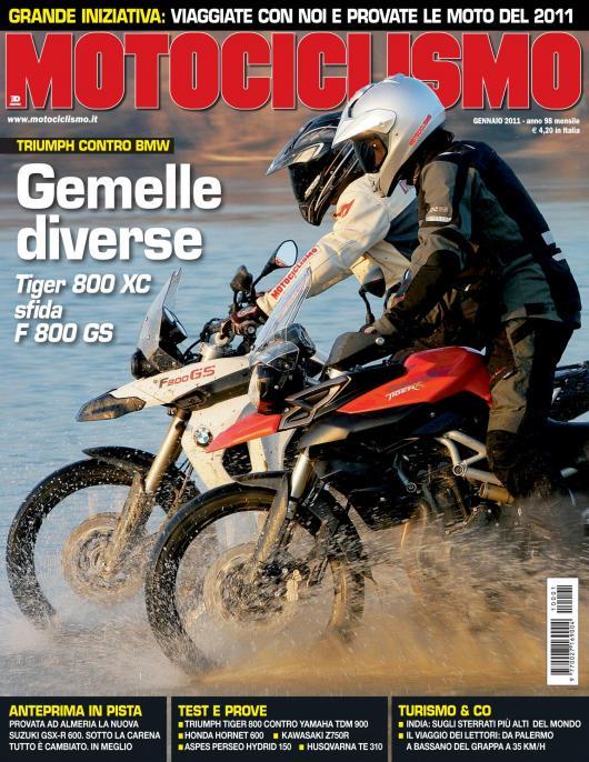 Carbonio sulla pelle – Motociclismo 01-2011