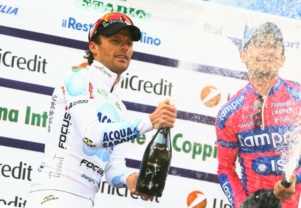 Coppi & Bartali: Di Luca di nuovo sul podio