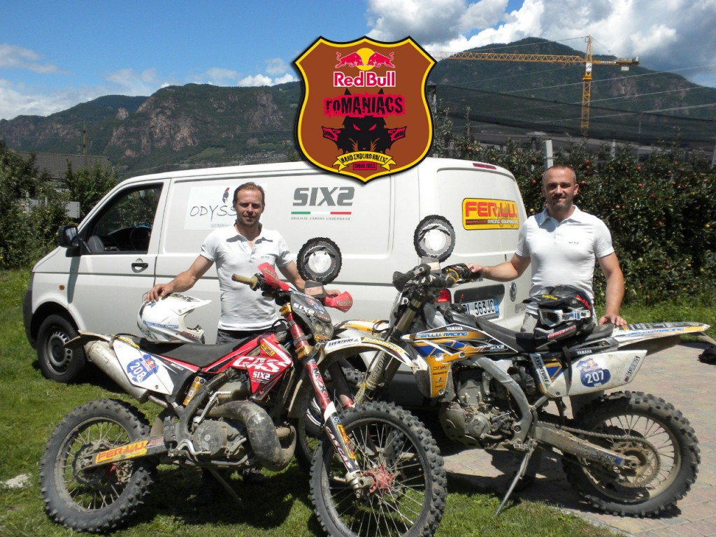 Stefan Schröck e Enrico Garavelli vincono in SIXS al RedBull Romaniacs
