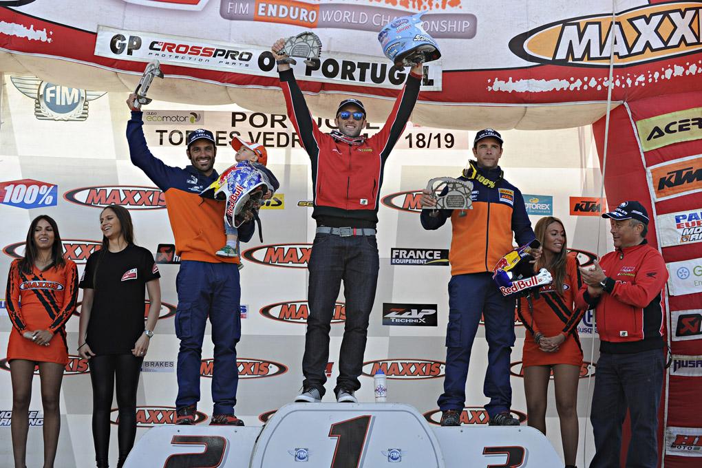 Sublime doppia vittoria di Alex Salvini nel GP del Portogallo