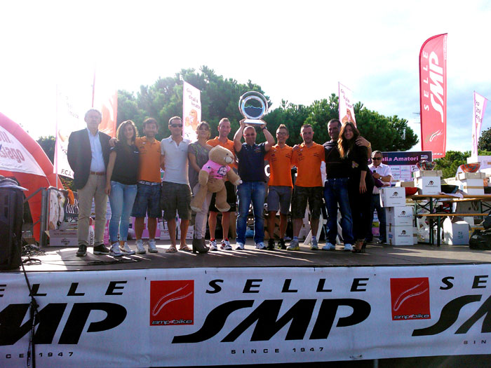 Team MG.K Vis Gobbi LGL Miche: successo al Giro d'Italia