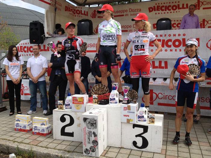 Team Somec MG.K Vis Tubozeta: la Neri terza alla Dieci Colli