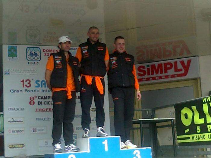 Il Team MG.K Vis Gobbi LGL Miche sbanca la GF di San Marino