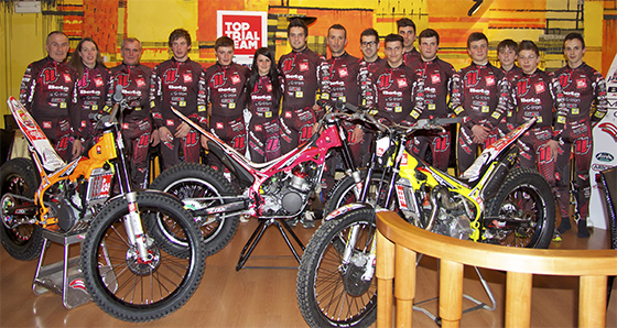 Presentazione Top Trial Team Miton!