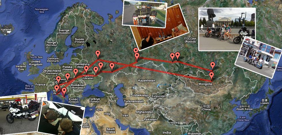 MotoAdventure va in Mongolia... e ritorna!
