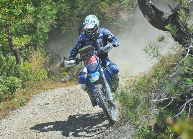 Alex Zanotti vice-campione italiano Motorally 450cc